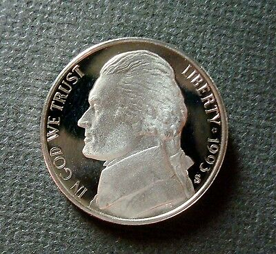 1993-S GEM PROOF ULTRA CAMEO JEFFERSON NICKEL PROBLEM FREE HIGH-END COIN