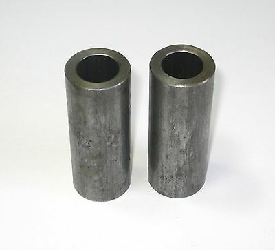 2 Steel 7//8 Length x 5//8 ID Bushings Spacers for Mini Bikes /& Go Karts