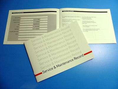 VAUXHALL Service Book  New Unstamped History Maintenance Record - Free Postage