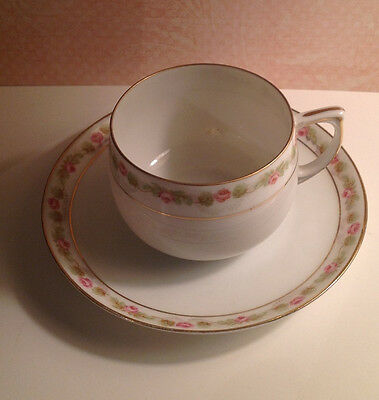 M Z Austria Cup and Saucer Set, Numbered