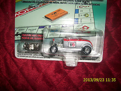 JOHNNY LIGHTNING 1932 FORD ROADSTER  MONOPOLY 70TH ANNIVERSARY
