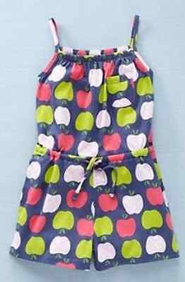 Girls playsuit ex store brand short summer outfit  2 3 4 5 6 7 8 9 10 years *NEW