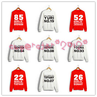 SNSD Girls'Generation Member SONE Same Style Sweater Hoodie KPOP NEW