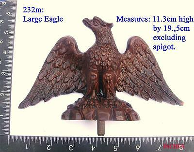 232m Large  Eagle for Vienna regulator clock case / DIY