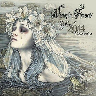 Victoria Frances Gothic Art 2014 Square Uk Wall Calendar New And Factory Sealed