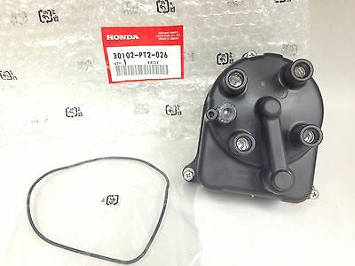 NEW Genuine OEM Honda Acura Distributor Cap w/ O-ring 30102-PT2-026 *FREE SHIP*