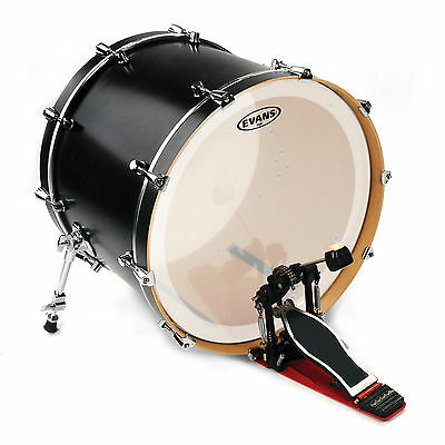 """Evans 22"""" Coated EQ4 Batter Bass Drumhead"""