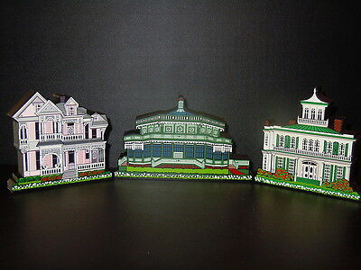 Texas Historic Shelia's Mini Houses - Bundle Of 3 - Reduced!  Great Gifts!