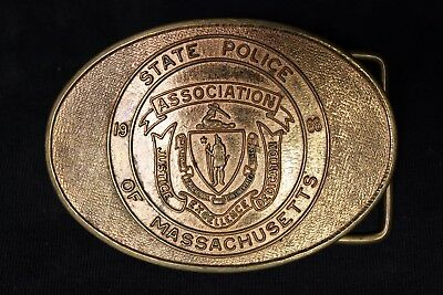 State Police Asoociaition of Massachusetts Limited Edition Nr. 863 / 1100 Buckle