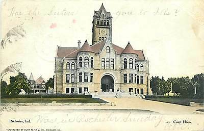 IN-ROCHESTER-COURT HOUSE-MAILED 1907-Q23323