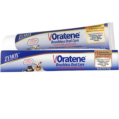 Zymox Oratene Veterinary Maintenance Oral Gel (2.5 oz)