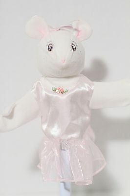 "American Girl Doll 8"" Angelina Ballerina Hand Puppet"