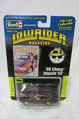 Revell Issue #134 Low Rider Magazine 1:64 Scale Die Cast '96 Chevy Impala SS NEW