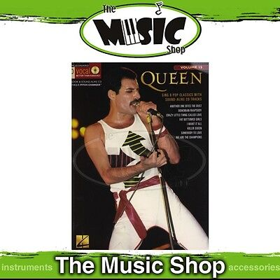 New Queen Pro Vocal Men's Edition Book & CD - Volume 15