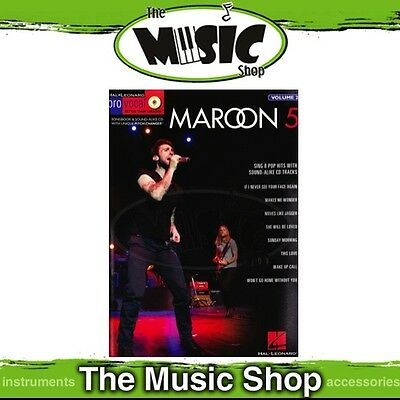 New Maroon 5 Pro Vocal Men's Edition Book & CD - Volume 28 - Maroon Five