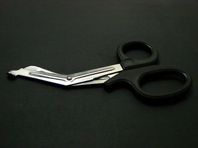 "EMT/EMS Utility Scissors Shears 5.5"" Black"