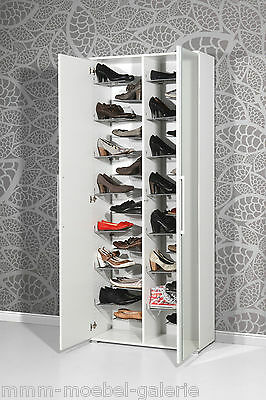 design spiegel schuhschrank extra gro f r paar schuhe wei schuhregal eur 379 00. Black Bedroom Furniture Sets. Home Design Ideas