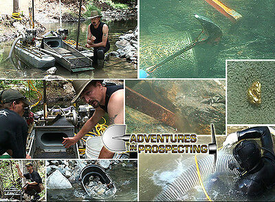 How To Suction Gold Dredge a Complete Guide DVD how to find