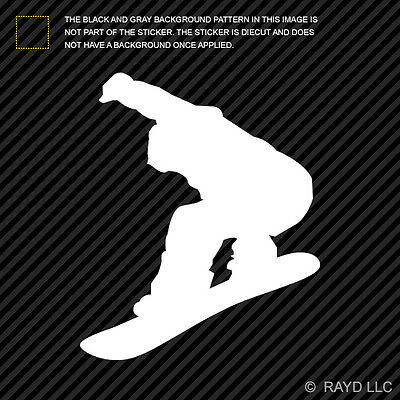 2x Snowboarder Cell Phone Sticker Mobile snowboarding grom #2 many colors