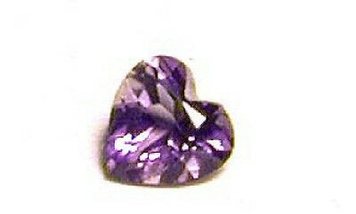 Beautiful, Pinkish Blue Iolite Heart Gem!