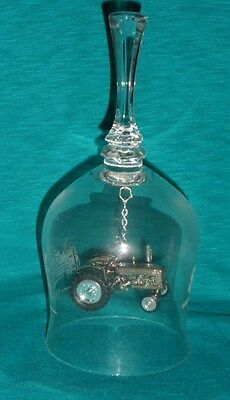1995 New Holland Tractor Crystal Christmas Bell