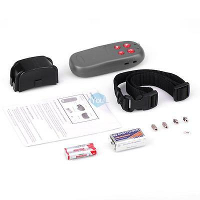 4 IN 1 Training Pet Dog Remote Control Vibrate & Electric Shock No Bark Collar