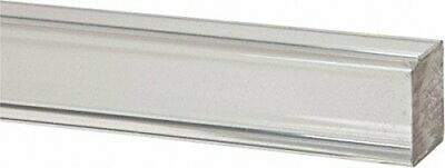 "Acrylic Square Rod (Extruded) - Clear - 72"" x 1/8""  (Pack of 25) (Nominal)"