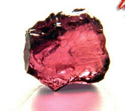 Large, Hot Pink Rhodolite Garnet Gem Facet Rough!