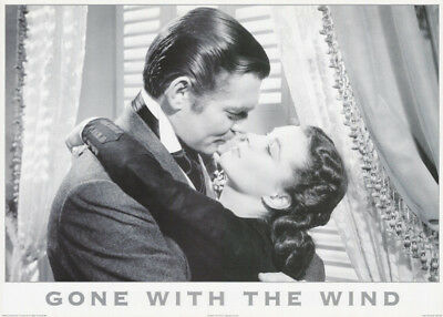 Poster :movie Repro: Gone With The Wind - Free Shipping  - #pf2016  Rc4 K