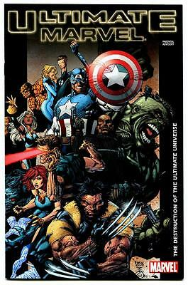 ULTIMATE MARVEL THE DESTRUCTION OF THE ULTIMATE UNIVERSE NO. #1 (NM) UNREAD