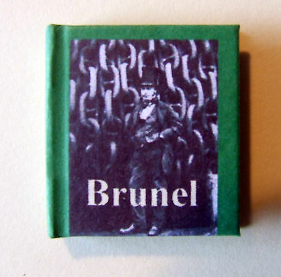 Dollshouse Miniature Book -Great Engineers, Brunel