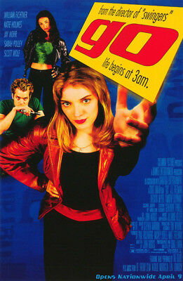 Small Poster: Movie Repro: Go ! Life Begins At 3 Am - Free Shipping -   Rc39 S-R