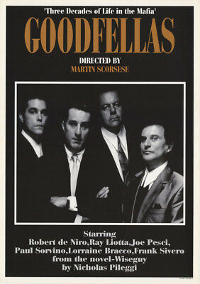 Posters: Movie Repro: Goodfellas - Free Shipping -   Rc45 K