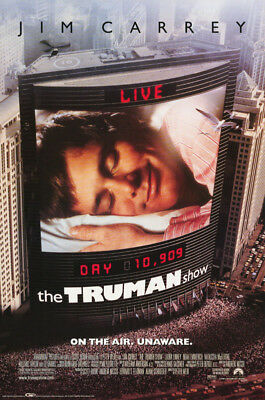 Poster :Movie Repro: The Truman Show - On The Air - Free Ship #3489  Rp85 N