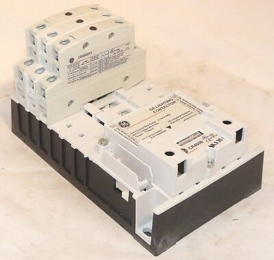 New GE CR463L03AUA 3 NC Pole 480 volt coil Electrically Held Contactor