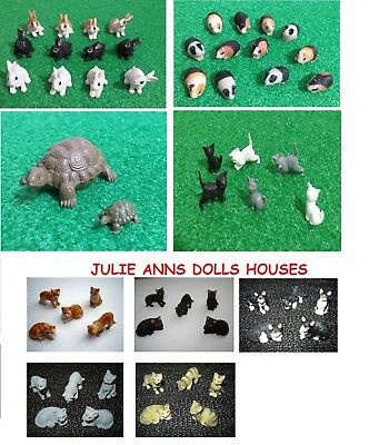 DOLLS HOUSE PET CAT MINIATURE 12th SCALE, ANIMAL,  NEW JULIE ANNS