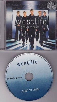 Westlife - Coast to Coast - Out of Print South African CD CDRCA 7046