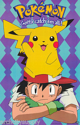 Poster : Tv: Pokemon - Character   Free Shipping !  #399  Lw6 Q