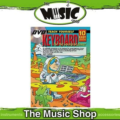 New 10 Easy Lessons Teach Yourself Keyboard for Young Beginners Book & DVD