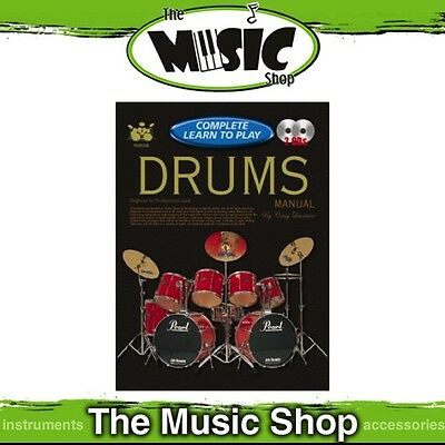 Progressive Complete Learn To Play Drums Manual - Book & 2 CD Package
