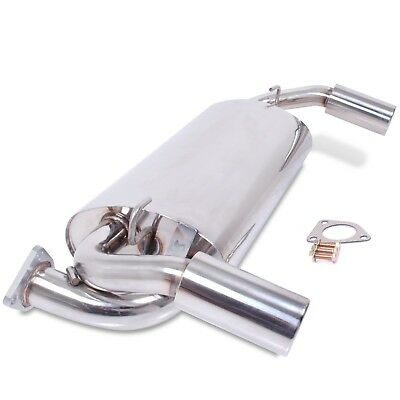 Direnza Stainless Steel Exhaust System Back Box For Rover Mg Mgf Mgtf 1.6 1.8