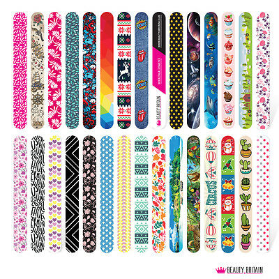 60 x NAIL FILES 60 DIFFERENT STYLES DOUBLE SIDED WHOLESALE UK