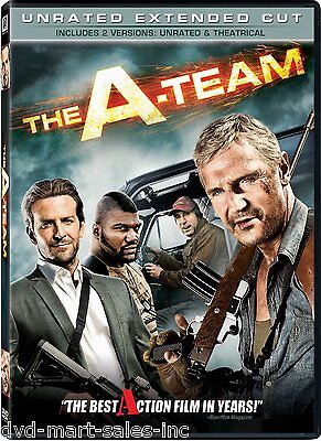 The A-Team  (DVD, 2010, Unrated Extended Cut)  Brand New