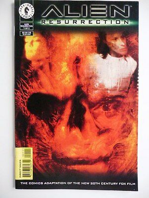 alien resurection 1 of 2 dark horse comics