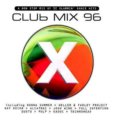 Club Mix 96 Cd - 2 X Cds Mixed 90S House Oldskool Rave Piano Classics Cdj Dj