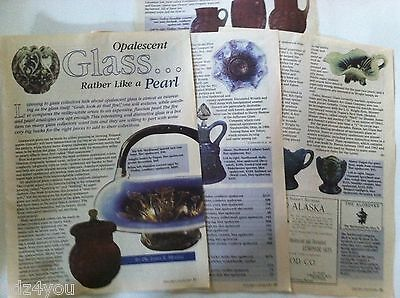 Collecting Opalescent Glass Article/Pictures/Information/(2000) Price Sampler