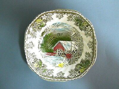 Johnson Brothers China Friendly Village Square Cereal Bowl 6 1/4 Made in England