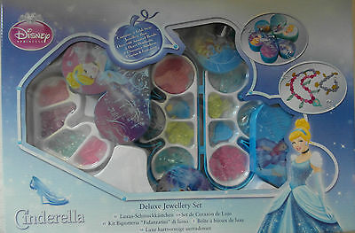 Disney Princess Cinderella Deluxe Jewellery Set