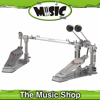 Pearl P-932 Demonator Twin Bass Drum Pedal - P932 Doble Kick Pedal - Chain Drive