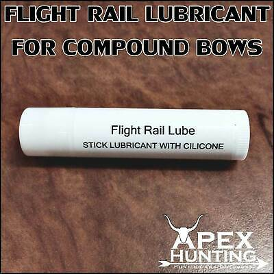Brand New Bow Wax For Compound Bow Silicone Lubricant By Apex Hunting